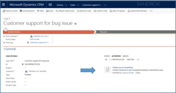Dynamics CRM Activities Not Notes xRM3 Picture5